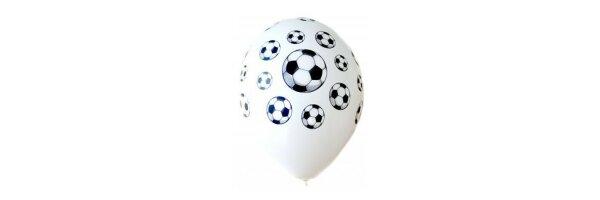 Luftballons mit Sportmotiv
