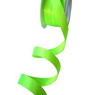 Satinband Limonen-Grün 15mm Stoffband