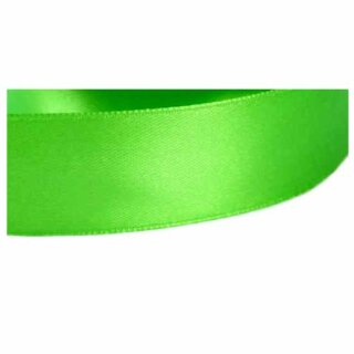 Satinband Frühlingsgrün15mm Stoffband