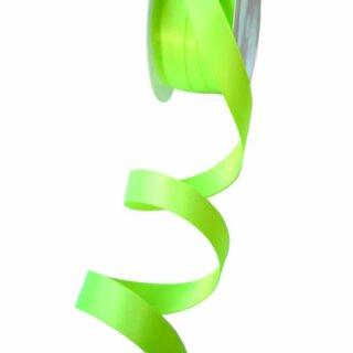 Satinband Saurer Apfel-Grün15mm Stoffband