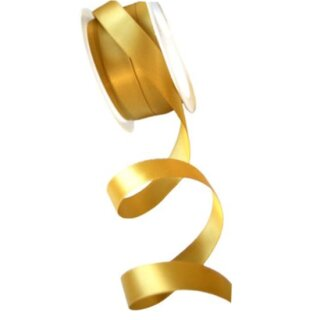 Satinband Pokal-Gold 15mm Stoffband