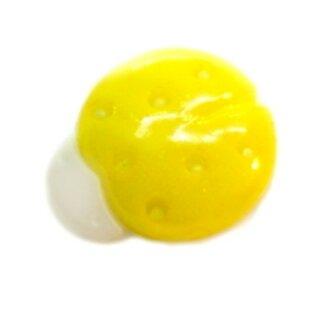 Marienkäfer-Knöpfe in Hell-Gelb-Weiß 15mm*13mm