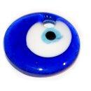 10 Glas-Anhänger 2. Wahl Göz Rund 30mm Göz