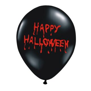 Happy Halloween Blutig Ballons