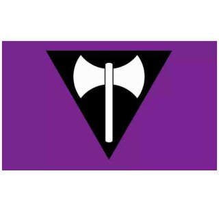 Lesbian Doppelaxt Flagge 90*150cm Stolz PRIDE
