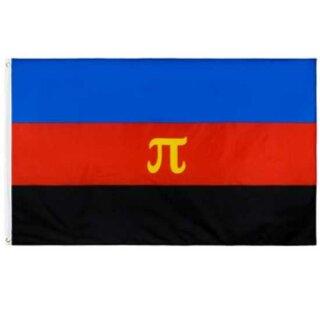Polyamorie/ Polyamurös Flagge 90*150cm PRIDE/ CSD