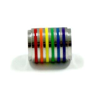 Regenbogen Anhänger Zylinder