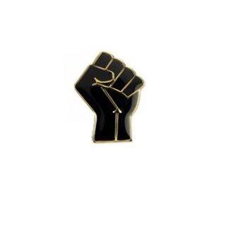 Black lives matter - Pin BLM Schwarze Faust