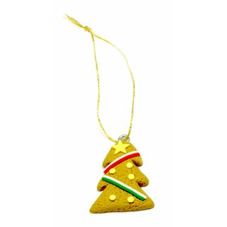 Lebkuchen-Mänchen Figuren für Weihnachten Weihnachtsbaum