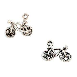 Mini Fahrrad Anhänger unlackiert
