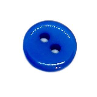 2-Loch-Knöpfe 9mm in Mittelblau