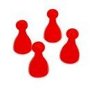 Spielfiguren aus Kunststoff Rot