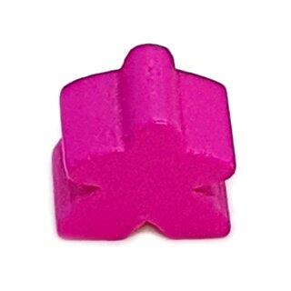 Spielfiguren aus Holz 15 x 16mm Pink