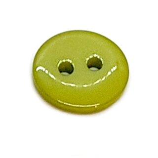 Runde Knöpfe 11mm Moos-Grün 2-Loch