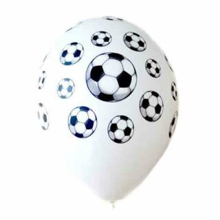 Fußball Ballon Latex / Heliumgeeignet EM