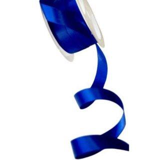 5 Meter Satinband Kornblumen-Blau 15mm Stoffband
