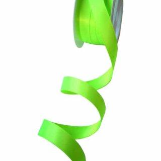 5 Meter Satinband Limonen-Grün 15mm Stoffband