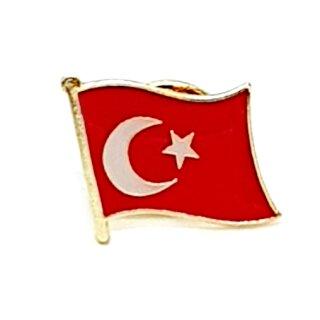 Türkei-Flaggen Pin / Anstecker