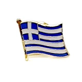 Griechenland-Flaggen Pin / Anstecker