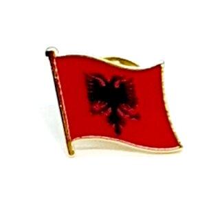 Albanien-Flaggen Pin / Anstecker