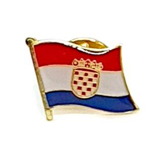 Kroatien-Flaggen Pin / Anstecker