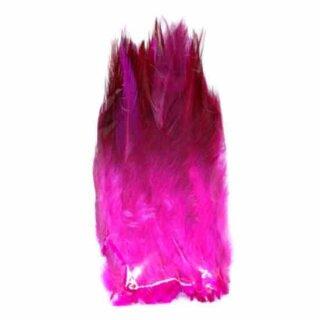 Pink gefärbte Federn im Pack zu 50 Stück 10-15cm