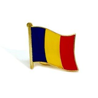 Rumänien-Flaggen Pin / Anstecker