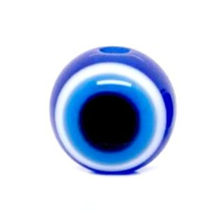 Göz Perlen 14mm Farbmix Rund/Türkischer Glücksbringer