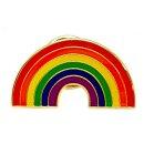 Regenbogen-Pins in Regenbogen Farben LGBT