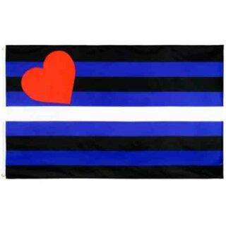 Lederfetisch-Flagge 60*90cm Stolz PRIDE/ CSD