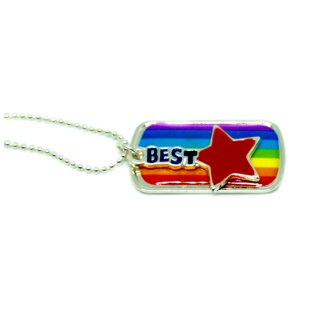 Regenbogen Kette [ Best ] Friends Forever