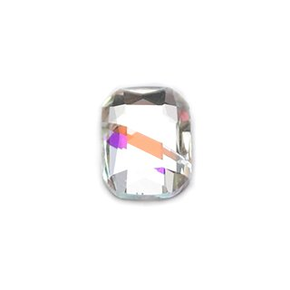 3D Strasssteine Viereck 6 x 8mm (1961) Cristal-Farben