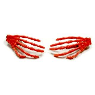 Skeletthand-Haarspange in Fleischfarben 55mm